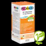 Pédiakid 22 Vitamines Et Oligo-eléments Sirop Abricot Orange 250ml à CANEJAN