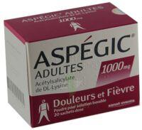 ASPEGIC ADULTES 1000 mg, poudre pour solution buvable en sachet-dose 15 à CANEJAN