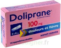 DOLIPRANE 100 mg Suppositoires sécables 2Plq/5 (10) à CANEJAN