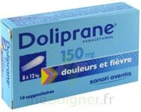 DOLIPRANE 150 mg Suppositoires 2Plq/5 (10) à CANEJAN