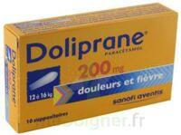 DOLIPRANE 200 mg Suppositoires 2Plq/5 (10) à CANEJAN