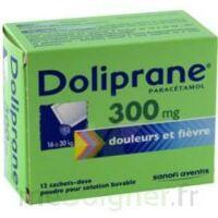 DOLIPRANE 300 mg Poudre pour solution buvable en sachet-dose B/12 à CANEJAN