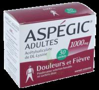 ASPEGIC ADULTES 1000 mg, poudre pour solution buvable en sachet-dose 30 à CANEJAN