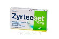 ZYRTECSET 10 mg, comprimé pelliculé sécable à CANEJAN