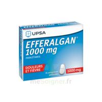 Efferalgan 1000 Mg Comprimés Pelliculés Plq/8 à CANEJAN