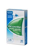 NICORETTE 2 mg Gom à mâcher médic sans sucre menthe glaciale Plq/30gom à CANEJAN
