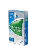 NICORETTE 4 mg Gom à mâcher médic sans sucre menthe glaciale Plq/30gom à CANEJAN