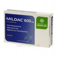 MILDAC 600 mg, comprimé enrobé à CANEJAN