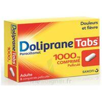 DOLIPRANETABS 1000 mg Comprimés pelliculés Plq/8 à CANEJAN
