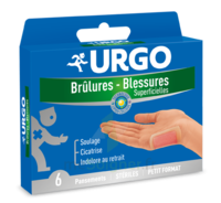 URGO BRULURES-BLESSURES PETIT FORMAT x 6 à CANEJAN