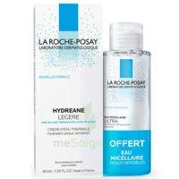 Acheter Hydreane Légère Crème hydratante peau normale à mixte 40ml+Eau micellaire 50ml à CANEJAN