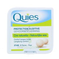 QUIES PROTECTION AUDITIVE CIRE NATURELLE 8 PAIRES à CANEJAN