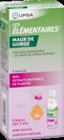 LES ELEMENTAIRES Spray buccal maux de gorge enfant Fl/20ml à CANEJAN