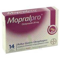 MOPRALPRO 20 mg Cpr gastro-rés Film/14 à CANEJAN
