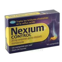 NEXIUM CONTROL 20 mg Cpr gastro-rés Plq/14 à CANEJAN