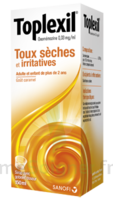 TOPLEXIL 0,33 mg/ml, sirop 150ml à CANEJAN