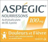 ASPEGIC NOURRISSONS 100 mg, poudre pour solution buvable en sachet-dose à CANEJAN