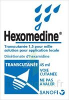 HEXOMEDINE TRANSCUTANEE 1,5 POUR MILLE, solution pour application locale à CANEJAN