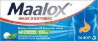MAALOX HYDROXYDE D'ALUMINIUM/HYDROXYDE DE MAGNESIUM 400 mg/400 mg Cpr à croquer maux d'estomac Plq/60 à CANEJAN