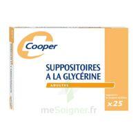 SUPPOSITOIRES A LA GLYCERINE COOPER Suppos en récipient multidose adulte Sach/25 à CANEJAN