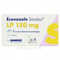 ECONAZOLE SANDOZ L.P. 150 mg, ovule à libération prolongée à CANEJAN