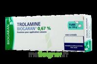 TROLAMINE BIOGARAN 0,67 % Emuls appl cut T/186g à CANEJAN