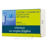 CYSTINE/VITAMINE B6 BIOGARAN CONSEIL 500 mg/50 mg Cpr pell Plq/120 à CANEJAN