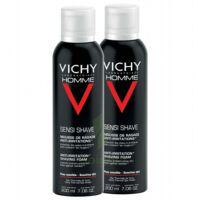 VICHY mousse à raser peau sensible LOT à CANEJAN