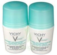 VICHY TRAITEMENT ANTITRANSPIRANT BILLE 48H, fl 50 ml, lot 2 à CANEJAN