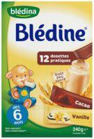 Blédine Vanille/Cacao 12 dosettes de 20g à CANEJAN