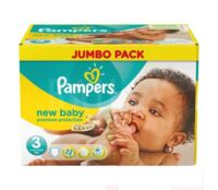 PAMPERS COUCHES NEW BABY 5-9KG 99 COUCHES à CANEJAN