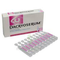 DACRYOSERUM Solution pour lavage ophtalmique en récipient unidose 20Unidoses/5ml à CANEJAN