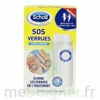 Scholl SOS Verrues traitement pieds et mains à CANEJAN