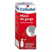 COLLUDOL Solution pour pulvérisation buccale en flacon pressurisé Fl/30 ml + embout buccal à CANEJAN