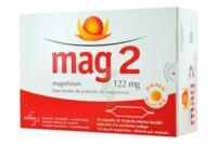 MAG 2 122 mg S buv en ampoule sans sucre édulcoré à la saccharine sodique 30Amp/10ml à CANEJAN