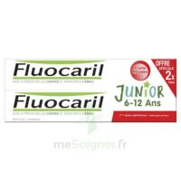 Fluocaril Junior Gel dentifrice Fruits rouges 6/12ans 2*75ml à CANEJAN