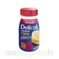 DELICAL BOISSON HP HC CONCENTREE Nutriment vanille 4Bouteilles/200ml à CANEJAN