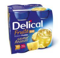 DELICAL BOISSON FRUITEE Nutriment ananas 4Bouteilles/200ml à CANEJAN