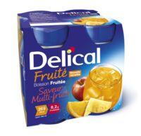 DELICAL BOISSON FRUITEE Nutriment multi fruits 4Bouteilles/200ml à CANEJAN