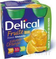 DELICAL BOISSON FRUITEE Nutriment édulcoré orange 4Bouteilles/200ml à CANEJAN