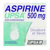 ASPIRINE UPSA 500 mg, comprimé effervescent à CANEJAN