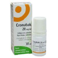 CROMABAK 20 mg/ml, collyre en solution à CANEJAN