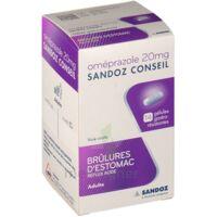 OMEPRAZOLE SANDOZ CONSEIL 20 mg Gél gastro-rés Plq/14 à CANEJAN