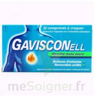 GAVISCONELL Coprimés à croquer sans sucre menthe édulcoré à l'aspartam et à l'acésulfame potas Plq/24 à CANEJAN