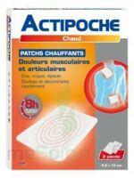 Actipoche Patch chauffant douleurs musculaires B/2 à CANEJAN