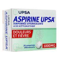 ASPIRINE UPSA TAMPONNEE EFFERVESCENTE 1000 mg, comprimé effervescent à CANEJAN