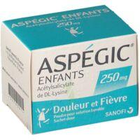 ASPEGIC ENFANTS 250, poudre pour solution buvable en sachet-dose à CANEJAN