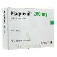 PLAQUENIL 200 mg, comprimé pelliculé à CANEJAN