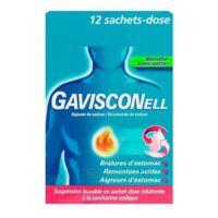 GAVISCONELL Suspension buvable sachet-dose menthe sans sucre 12Sach/10ml à CANEJAN