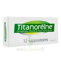 TITANOREINE Suppositoires B/12 à CANEJAN